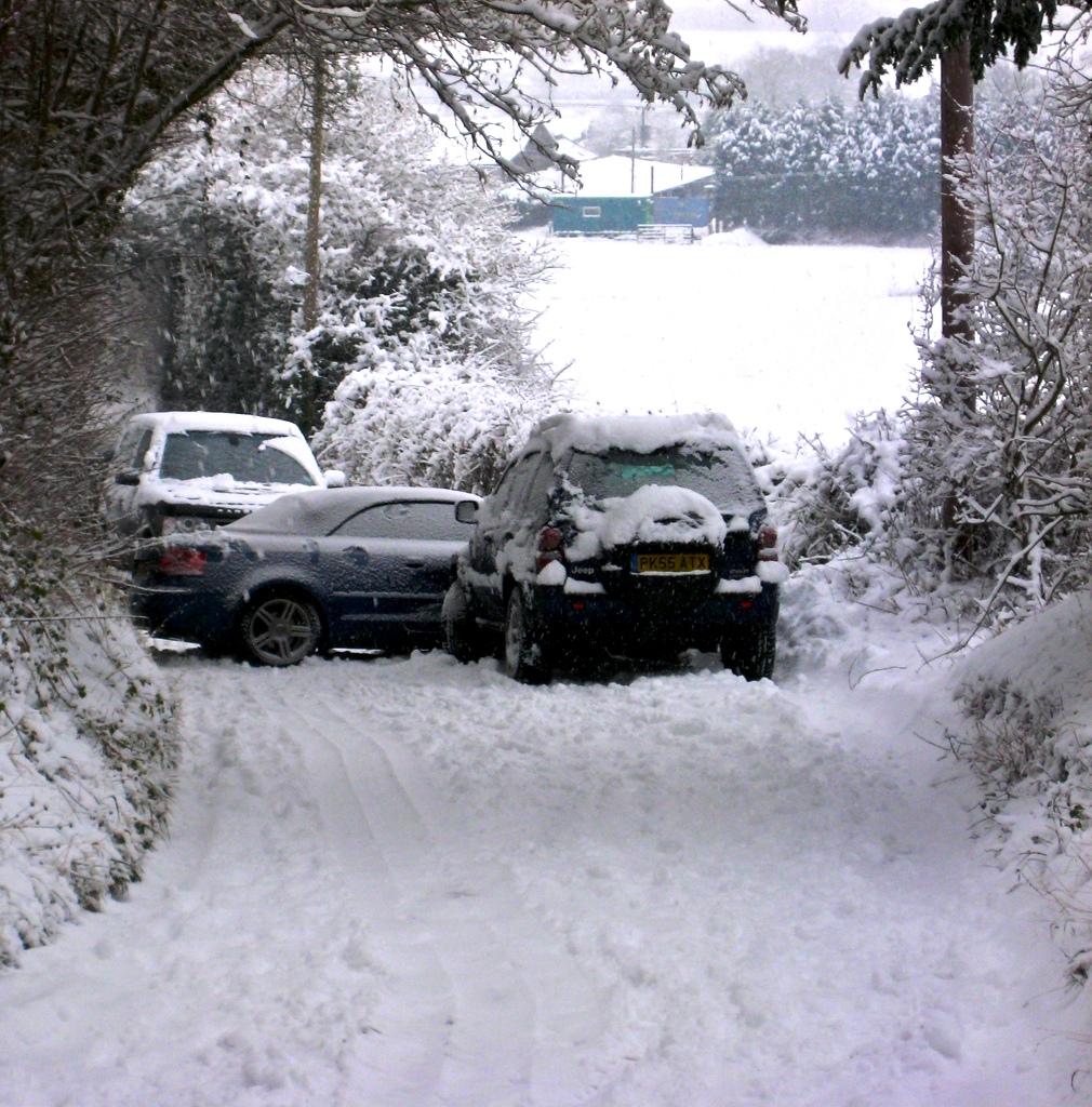 зима авария дтп