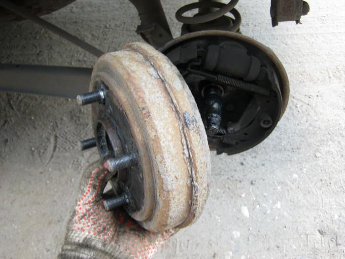Ремонт барабанного тормоза