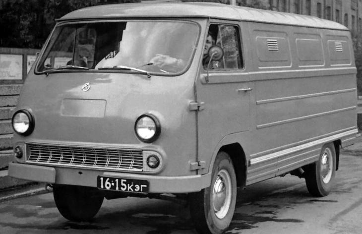 Фургон ЕрАЗ-762, 1966–1995