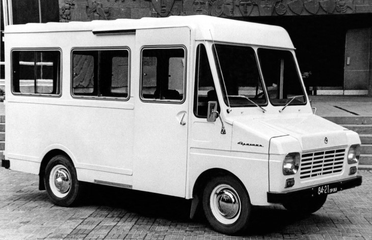 Фургон ЕрАЗ-763Б, 1970