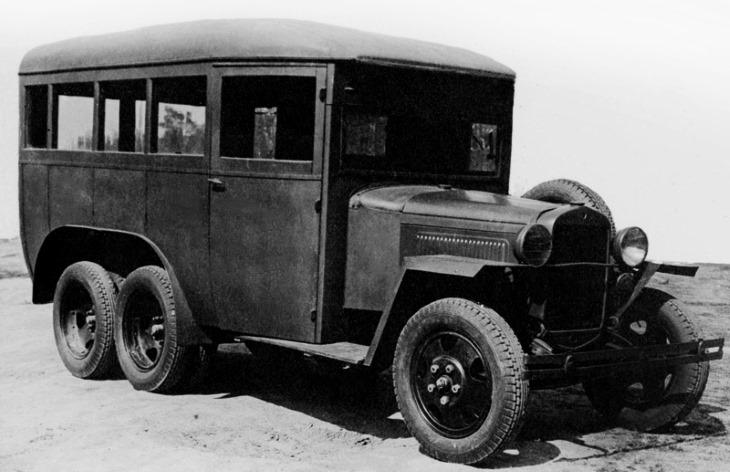 Автобус ГАЗ-05-193, 1936–1943