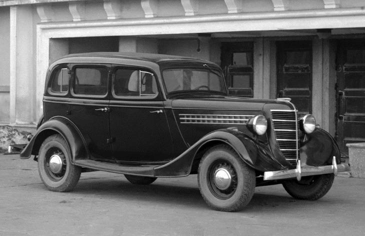 Автомобиль ГАЗ-11-73, 1939–1946