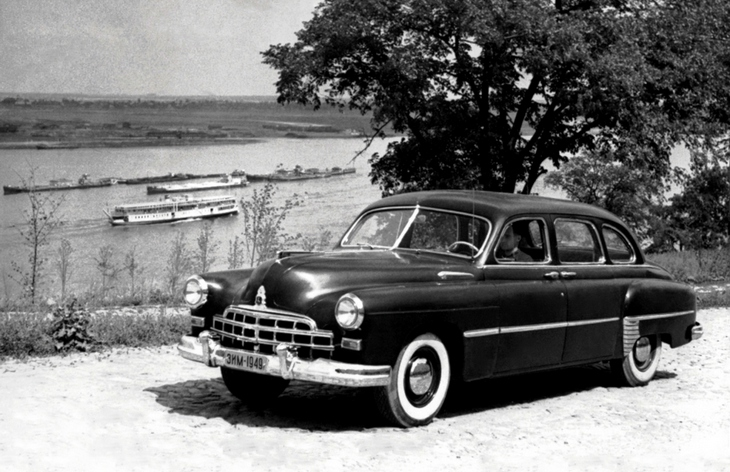 Седан ГАЗ-12 ЗиМ, 1950–1960