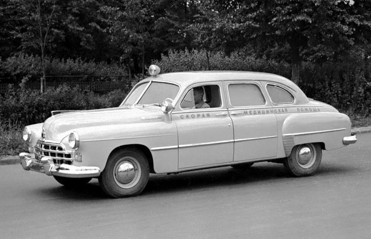 Седан ГАЗ-12Б ЗиМ, 1951–1960
