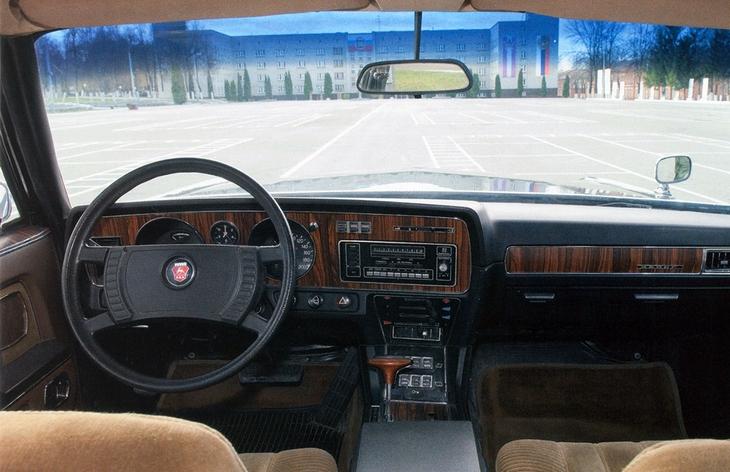 Интерьер седана ГАЗ-14 «Чайка», 1977–1988