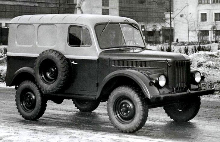 Фургон ГАЗ-19, 1955 год
