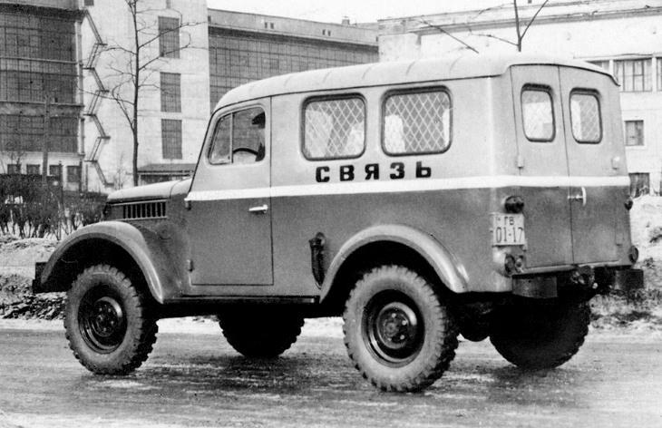 Фургон ГАЗ-19А, 1955 год