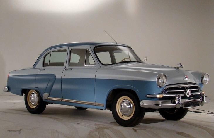Седан ГАЗ-21 «Волга» первой серии, 1956–1958