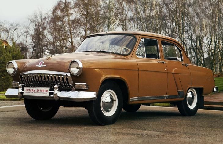Седан ГАЗ-21 «Волга» второй серии, 1958–1962