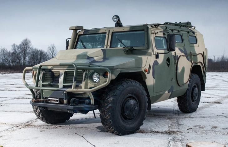 Внедорожник ГАЗ-233114 «Тигр-М»