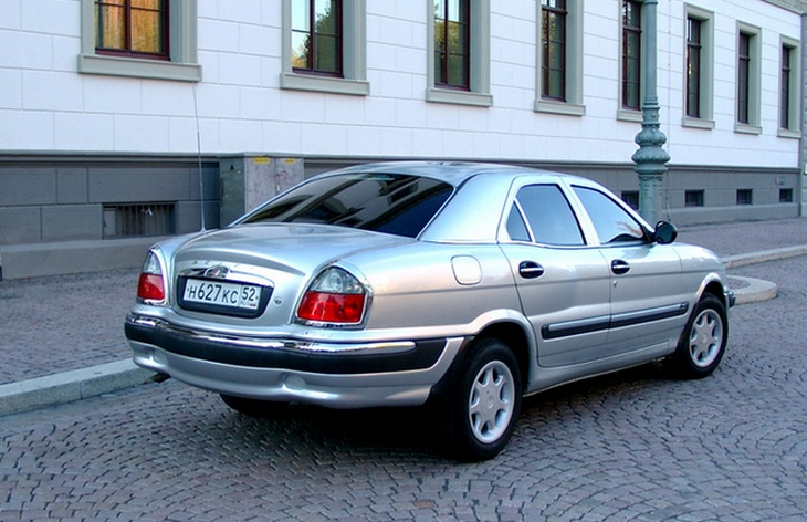 Седан ГАЗ-3111 «Волга», 1999–2004