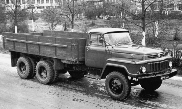 Грузовой автомобиль ГАЗ-33, 1965 год