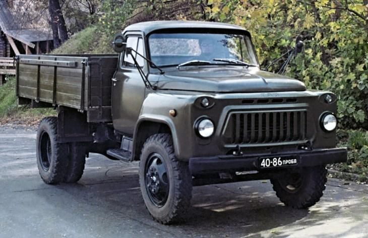Грузовой автомобиль ГАЗ-3302