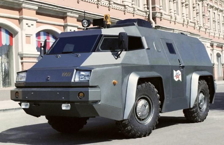 Бронеавтомобиль ГАЗ-3934 СИАМ