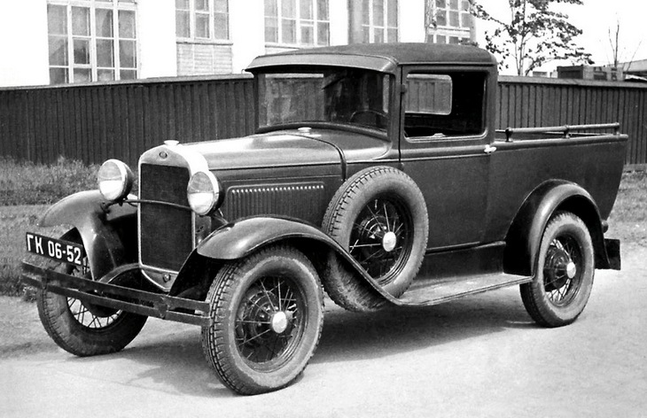 Пикап ГАЗ-4, 1933–1937