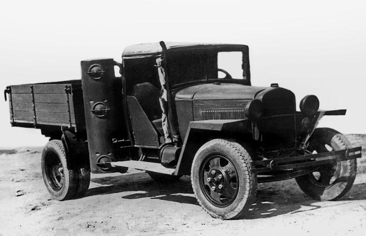 Грузовой автомобиль ГАЗ-42, 1939–1946