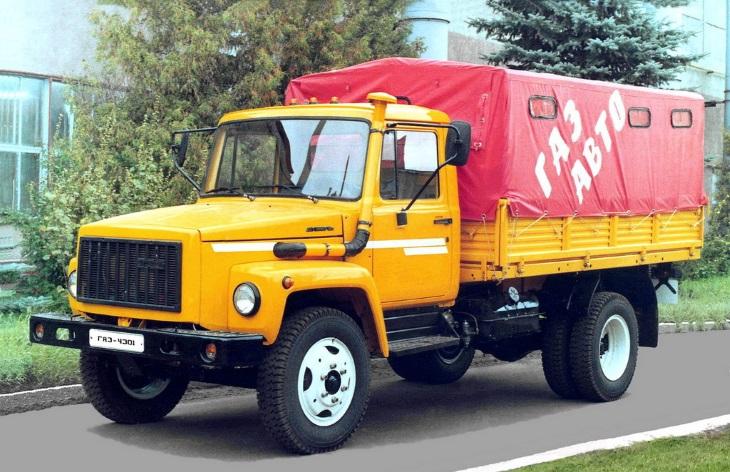 Грузовой автомобиль ГАЗ-4301, 1992–1995