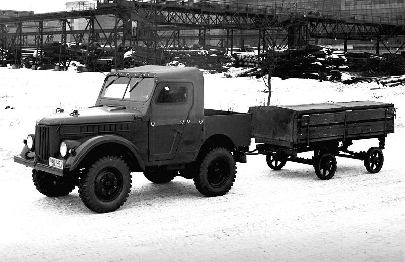 Автомобиль ГАЗ-50
