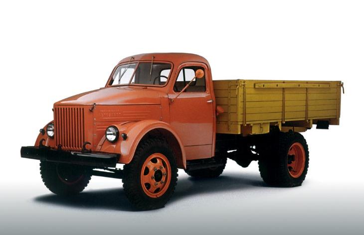 Грузовой автомобиль ГАЗ-51А, 1955–1975
