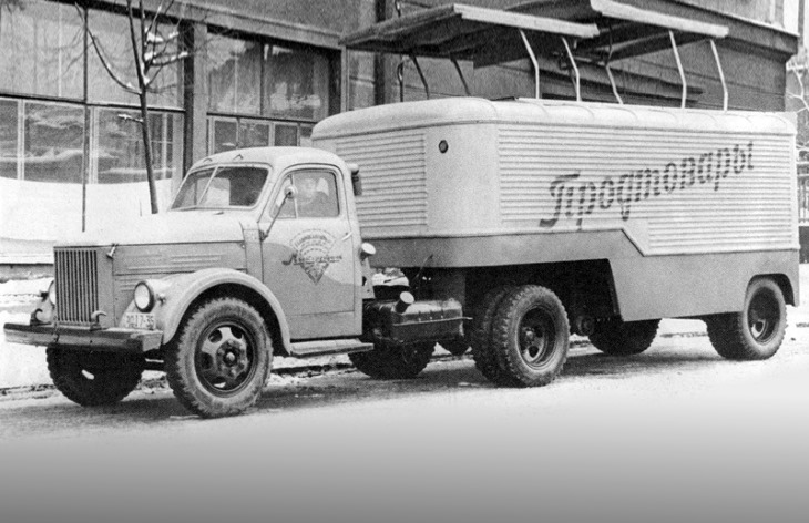 Седельный тягач ГАЗ-51П, 1956–1975