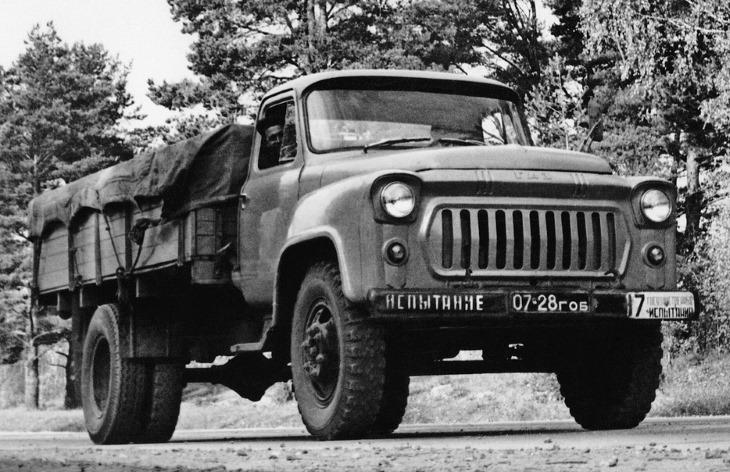 Бортовой грузовик ГАЗ-53Ф, 1961–1967