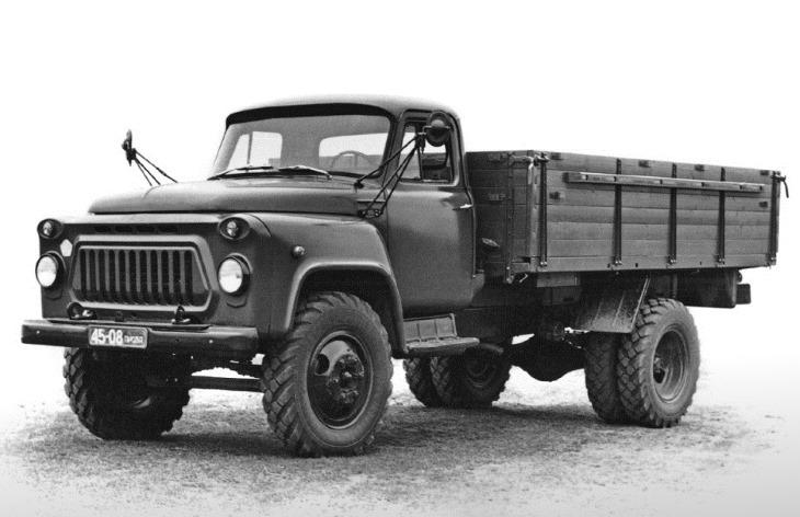 Бортовой грузовик ГАЗ-53А, 1965–1983