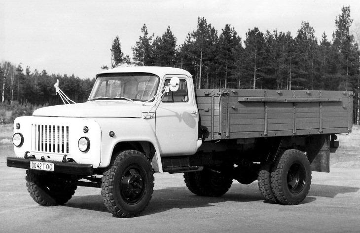 Бортовой грузовик ГАЗ-53-12, 1983–1993