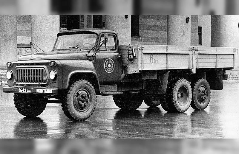 Прототип грузового автомобиля ГАЗ-53А-НИИАТ
