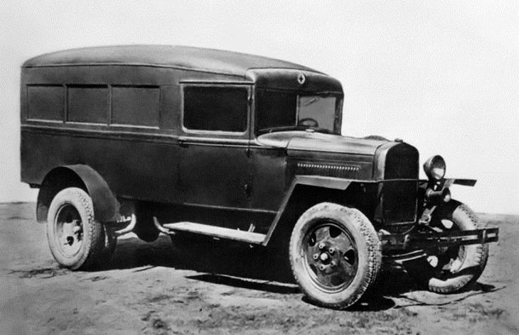 Автомобиль ГАЗ-55, 1938–1950