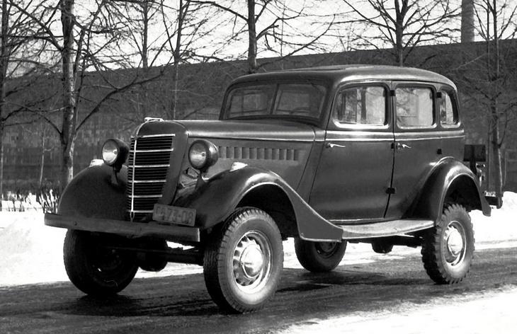 Автомобиль ГАЗ-61-73, 1941–1945