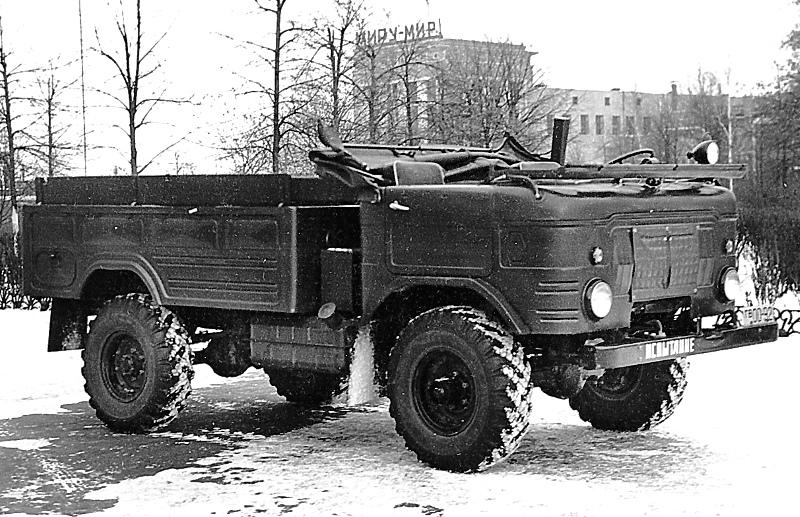 Грузовик ГАЗ-62, 1959–1969
