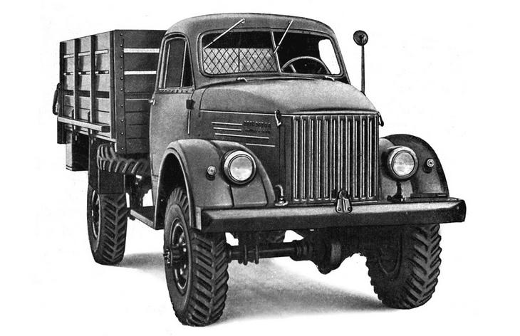 Грузовик ГАЗ-63, 1947-1968 гг.