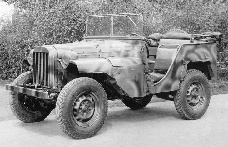 Внедорожник ГАЗ-64, 1941–1943