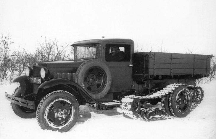 Грузовой автомобиль ГАЗ-65, 1940