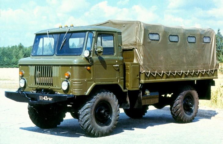 Грузовой автомобиль ГАЗ-66, 1964–1999