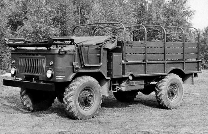 Грузовой автомобиль ГАЗ-66Б, 1966–1982