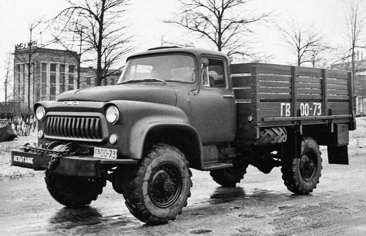 Грузовик ГАЗ-66А
