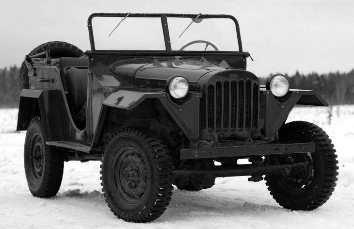 Внедорожник ГАЗ-67, 1943–1953