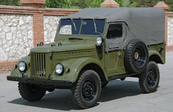 Внедорожник ГАЗ-69, 1953–1972