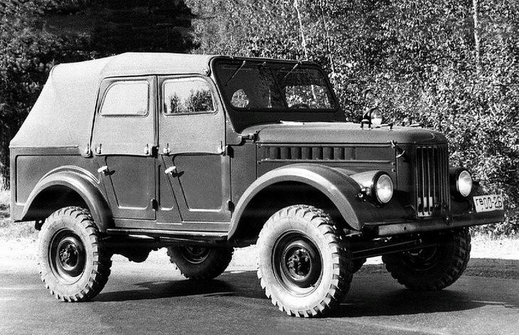Внедорожник ГАЗ-69А, 1953–1972
