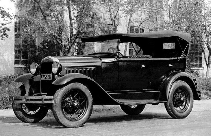 Автомобиль ГАЗ-А, 1932–1936