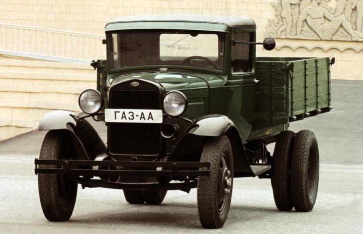 Грузовой автомобиль ГАЗ-АА, 1932–1950
