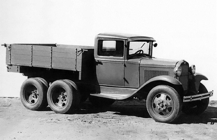 Грузовой автомобиль ГАЗ-ААА, 1936–1943