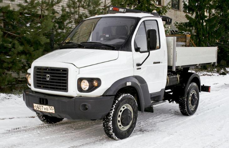 Прототип грузовика «ГАЗ Ермак»