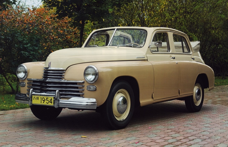Кабриолет ГАЗ-М-20 «Победа», 1949–1953