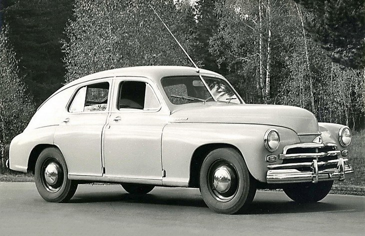ГАЗ-М-20В «Победа», 1955–1958