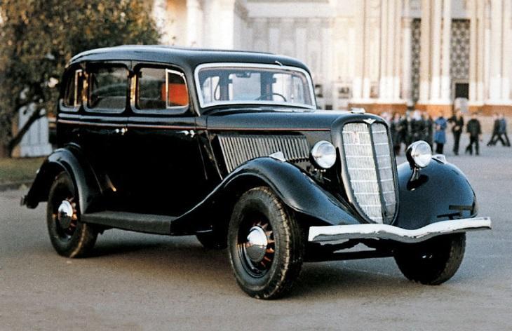 Автомобиль ГАЗ-М1, 1936–1942