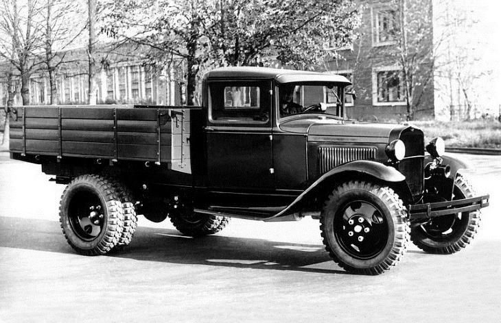 Грузовой автомобиль ГАЗ-ММ, 1936–1949
